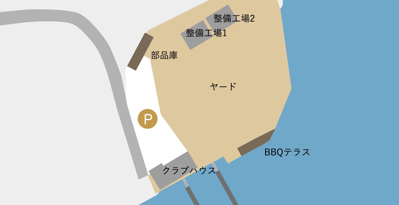 フロア図(事務所内・整備工場・)