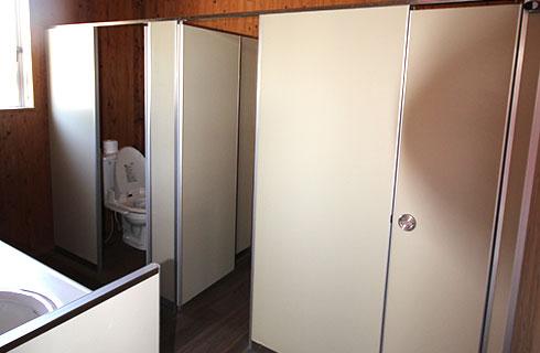 トイレは気持ちよく使っていただけるよう清潔にしております